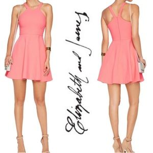 NWT Elizabeth and James Sonya Dress in Tiger Lily